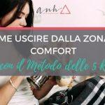 [VIDEO] Come Uscire Dalla Zona di Comfort con il Metodo delle 5 R