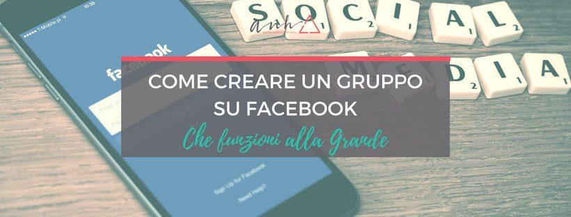 Come creare un gruppo su Facebook